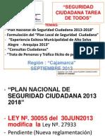 Exposicion Jaime Aleman Septiembre 2013 Region Cajamarca