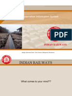Indian Railways Management Information System