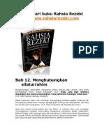 Menghubungkan Silaturrahim (Menambah Rezeki) Bab 12