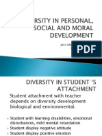4-S-diversity in Personal Social and Moral Development