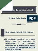 Seminario de Investigación 1