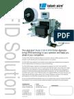 Label-Aire 3138n RFID Print & Apply Brochure