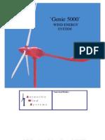 Genie 5000-Specs