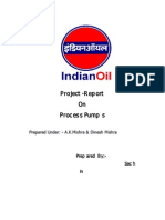 Project Report on Study of Process Pumps by-Sachin