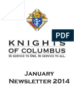 Arkansas Knights of Columbus Newsletter  January 2014