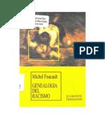 Foucault Michel - Genealogia Del Racismo