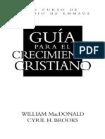 Guía Para El Crecimiento Cristiano