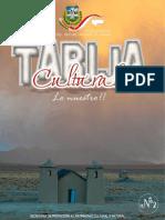 Revista Tarija Cultural