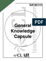 01. General Knowledge Capsule