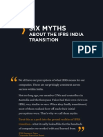 Six Myths of IFRS on