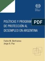 OIT - Políticas y programas de protección al desempleo en Argentina