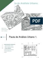 Análisis para  Diseño Urbano - 2010