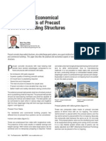 Practical and Economical Design Aspects of Precast Concrete Building Structures