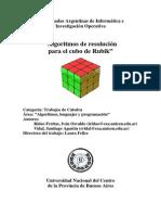 Algoritmos Rubik