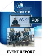 ASME UET KSK Event Report
