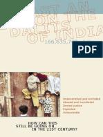 Untouchables in India