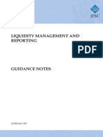 Liquidity Management and Reporting