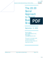 2020 Social Position Paper Social Business Strategy