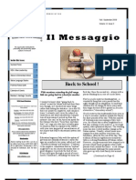 VICA Il Messaggio Fall 2009 Issue 082409