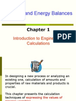 Chapter 1 Introduction to Engineering Calculations
