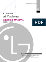 Lg l1404r 14000 Btu Window Room Air Conditioner Service Manual
