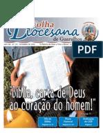 Folha Diocesana - Setembro de 2009
