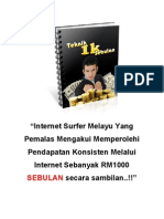 Pendapatan Duit Jutawan Online Sampingan