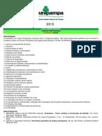 PSP 277 Programas Bibliografias