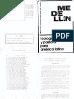 Antonich R., LN y LC Lectura orgánica y reflexión teológica