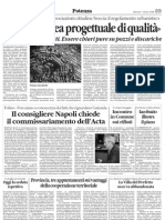 2008.10.07 - Il Quotidiano - Coordinamento Associazioni