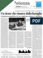 2008.11.08 - Il Quotidiano - Coordinamento Associazioni