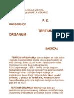 TERTIUM ORGANUM, 1.dio