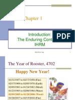 Chapter 1 IHRM BASICS
