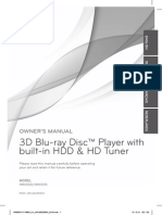 LG HRX550 User Manual