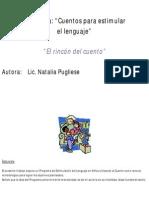 El cuento como herramienta metodológica-didáctica para estimular el lenguaje