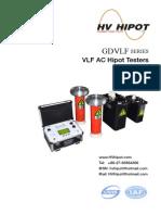 VLF AC Hipot Testers