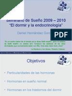 Seminario de Sueño 2009 – 2010 endocrinologia y sueño