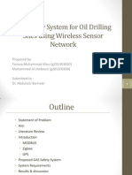 Gas Safety System for Oil Drilling Sites using Wireless Sensor Network