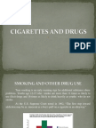 Cigarettes and Drugs