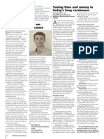 Nick Albrow writes for January's Healthcare Business