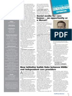 Mike Ramsden writes for January's Healthcare Business