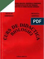 Curs de Didactica Biologiei 2003