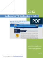 Guidance Tool for TB Notification in India - FINAL