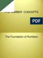 Prenumrbers Concepts