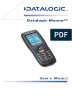 Datalogic Memor Ref Manual