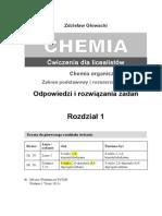Chemia 2b. Odpowiedzi i rozwiązania zadań. Alkany. Rozdział 1