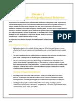 Fundamentals of Organizational Behavior