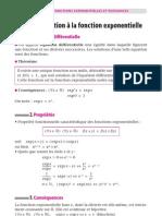 Fonction Exponentielles Et Puissances