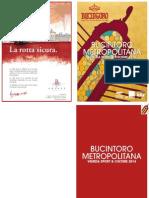 Bucintoro Metropolitana 2014