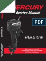 Mercury.6 8 9.9 15HP.2 Stroke.service.manual